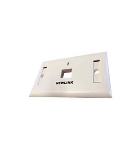 [NEW-4000001] WALL PLATE 1 PUERTO